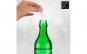 Dop luminos pentru sticle cu 8 led-uri colorate