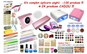 Kit complet aplicare unghii cu gel 100 produse + 24 produse