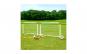 Set de joaca, 2 porti de fotbal cu pompa