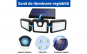Lampa solara pentru exterior cu senzor