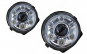 Set 2 faruri Bi-Xenon Look LED compatibil cu Mercedes W463 G-CLass 1989-2012, Mansory-Design Crom