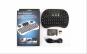 Mini tastatura Wireless portabila, cu mouse touchpad integrat si acumulator