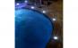 Set 4 lampi solare, model piatra, 6500k