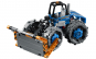Joc de constructie tip lego Excavator, imbinari si finisaje excelente, design atractiv, toate accesoriile incluse
