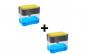 Set 2 Dispenser bucatarie pentru sapun lichid + burete Gratis