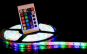Banda RGB LED, cu telecomanda si joc de lumini multicolore