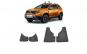 Set aparatori noroi Fata + Spate cu sistem de fixare Dacia Duster 2009-2018