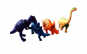Set figurine 4 dinozauri, 2DZ