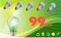 Set 6 becuri cu LED 9W Soclu E27, la 99 RON in loc de 260 RON