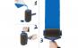 Kit 2x Trafaleti Profesional cu umplere + rezervor recipient 700 ml + brat extensibil 71 cm + 2x accesorii pentru colturi + LANTERNA CADOU