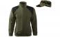 Jacheta barbati fleece + sapca, culoare military
