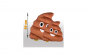 Jucarie de Plus Stil Poop Emoji