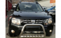 Bullbar inox cu suport de proiectoare Dacia Duster I 2009-2017