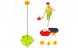 Set portabil de tenis de masă-Ping Pong cu baza, 2 rachete și 3 mingi