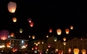 Set 30 lampioane multicolore zburatoare
