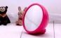 Mini oglinda LED de birou cu ceas si alarma, la 39 RON in loc de 79 RON