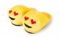 Papuci de casa Emoji indragostit 3D penrtu Copii, Happy Face, Galben