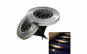 Set 4 lampi solare Metal Disk Lights led