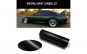 Folie auto negru mat 1m X 1.5m GABQ12