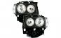 Set 2 faruri compatibil cu VW T4 97-03 pozitie angeleyes negru
