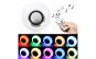 Bec LED disco cu boxa 3W, muzica, bluetooth, telecomanda, lumini, 220V