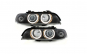 Set 2 faruri LED Angel Eyes compatibil cu BMW Seria 5 (1995-2003) Xenon Look