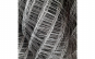 Plasa gard zincata gri, Inaltime 1.7m, Lungime 20m, grosime 2mm, dimensiune ochi plasa 75x75mm