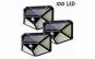 Set 3 x Lampa 100 LED cu panou solar