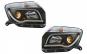 Set 2 faruri LED Light Bar compatibil cu DACIA Duster I (2009-2014), Tube Light, Negru