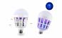 Bec LED 2 in 1 cu lampa UV anti insecte