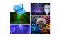 Pachet disco: laser disco cu doua culori + glob disco cu Mp 3 player si telecomanda + bec disco rotativ