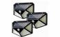 Set 3 x Lampa Led cu panou solar, senzor de miscare