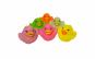 Set 6 jucarii de baie, Happy Ducks, VC4001