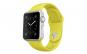 Curea Silicon Premium MTP Yellow pentru Apple Watch 38mm