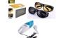 Set auto Parasolar auto HD Vision cu functie pentru zi/noapte + Ochelari de noapte + Ochelari pentru zi + Aspirator auto