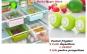 Set doua cutii depozitare frigider + Cadou Bile prospetime