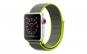 Curea Textila Premium MTP, Lime pentru Apple Watch 42mm