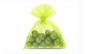 Saculeti organza, 10x15 cm, 25 bucati, Lime Green, OBAGLARGE