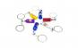 Breloc metalic butelie nitro Rosu