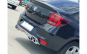 Difuzor spoiler bara spate Dacia Logan II 2013-2020 cu ornament toba