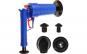 Pompa cu aer comprimat cu 4 accesorii pentru desfundat tevile de la chiuvete, cada, dus si toalete