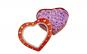 Aranjament din 20 de Trandafiri de Sapun Mov,Cutie Forma de Inima