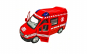 Ambulanta/Pompieri cu sunete si lumini,Radiocomanda ,4 functii,Metalica