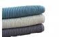 Set perfect de 3 prosoape crem/maro/vernil 70x140cm/densitate 600g/m²