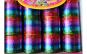 Set 12 jucarii Slinky mari, metalizate