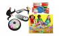 Minge Disc cu aer, lumini si muzica + Spuma de modelat 12 culori