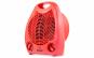 Aeroterma electrica Zass ZFH 02C, culoare rosu, 2 trepte de putere: 1000W / 2000W