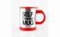 Cana cu auto-amestecare, pentru cafea / ceai / suc / etc., culoare rosu