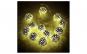 Instalatie globuri aurii Craciun, 20 LED