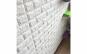 Tapet 3D caramizi alb